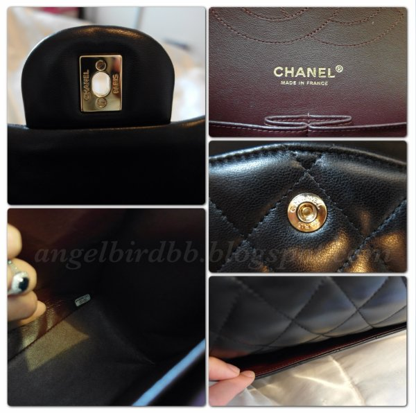 For The Authenticity With All Chanel Bags And Wallets Are Included A Card Corresponding Matching Number Label On Or